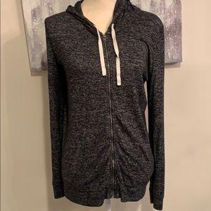 Express Zipper Hooded Sweatshirt